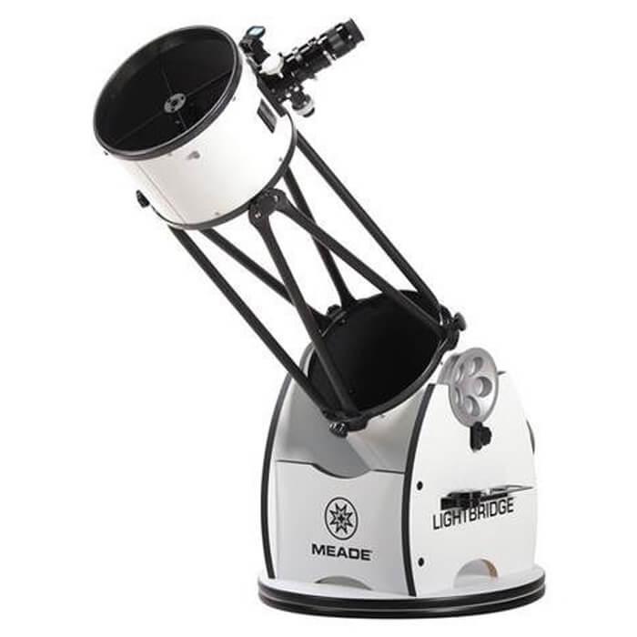Meade Instruments 1005-05-03 LightBridge 10-Inch Truss Tube Dobsonian Reflector Telescope Open Trus