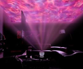 Soothing LED Wave Projector
