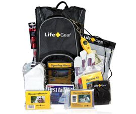 Life Gear Emergency Survival Kit