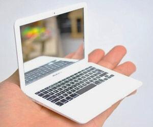 Tiny Macbook Pocket Mirror
