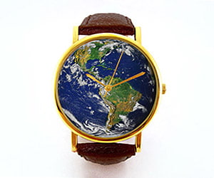 Planet Earth Father's Day Watch