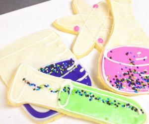 science sugar cookies