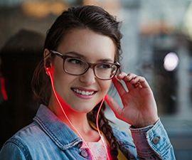 Glowing Headphones
