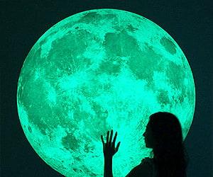 Gigantic Moon Night Light