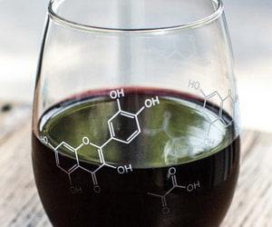 wine chemistry glass