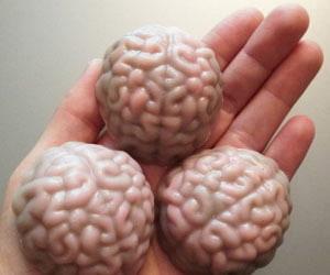 Geeky Brain Soaps
