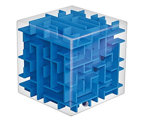 Physics 3D Cube Puzzle Box