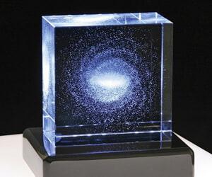 Milky Way Star Crystal