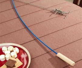 Fishing Rod Marshmellow Roaster