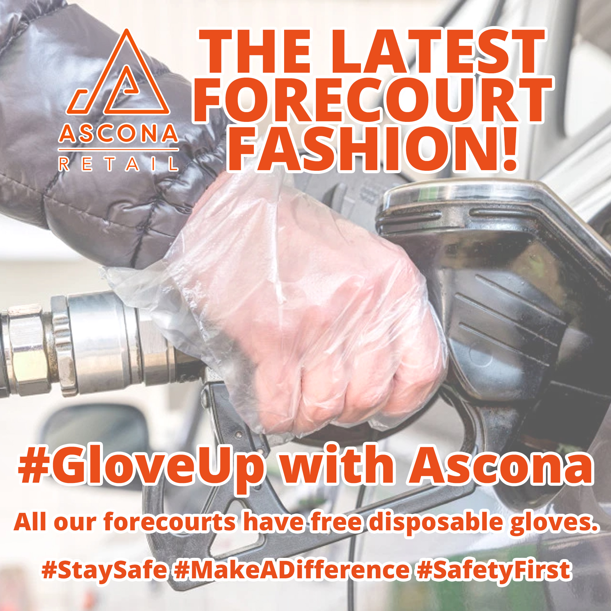 All Ascona forecourts have disposable gloves
