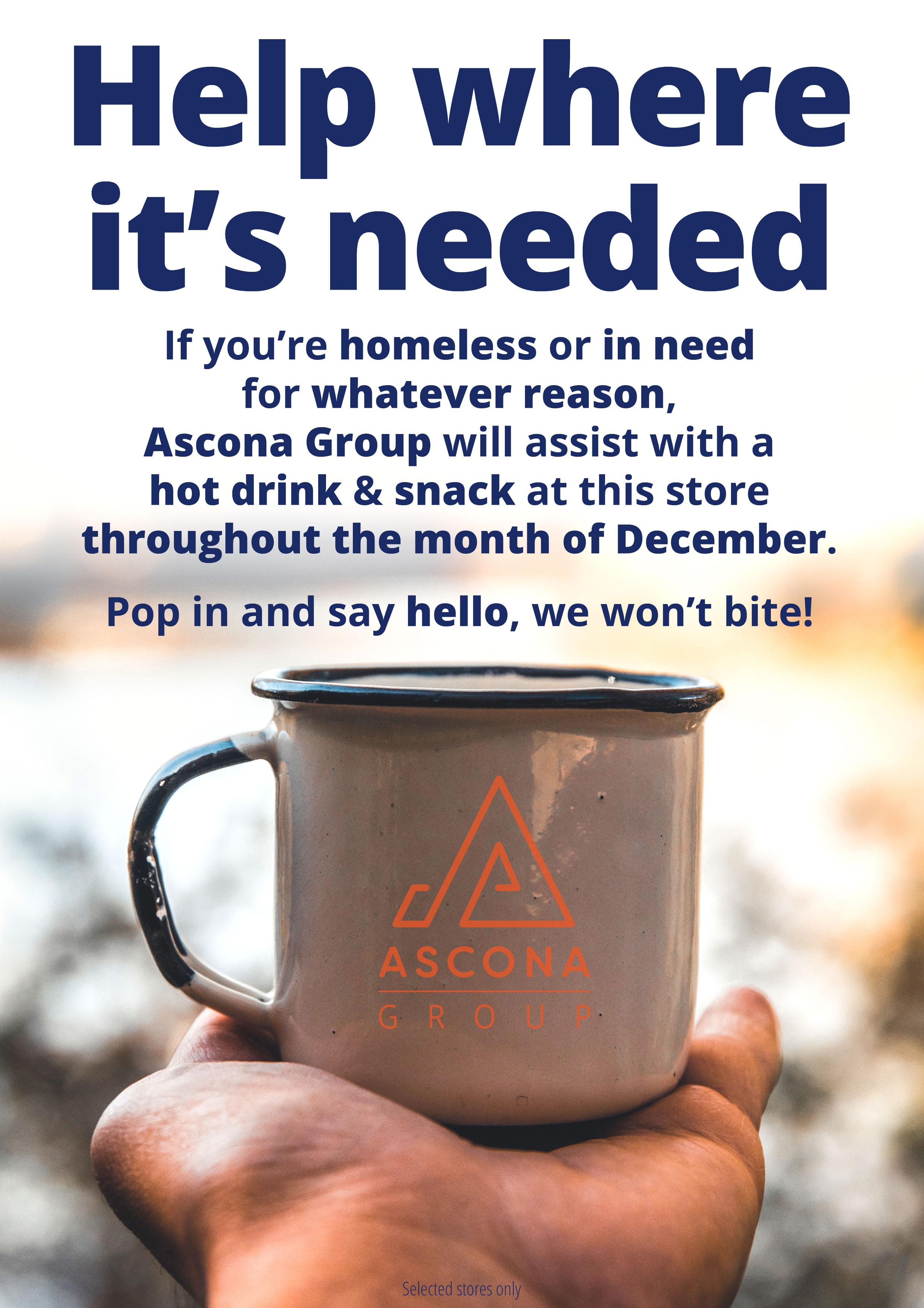 Help where it's needed