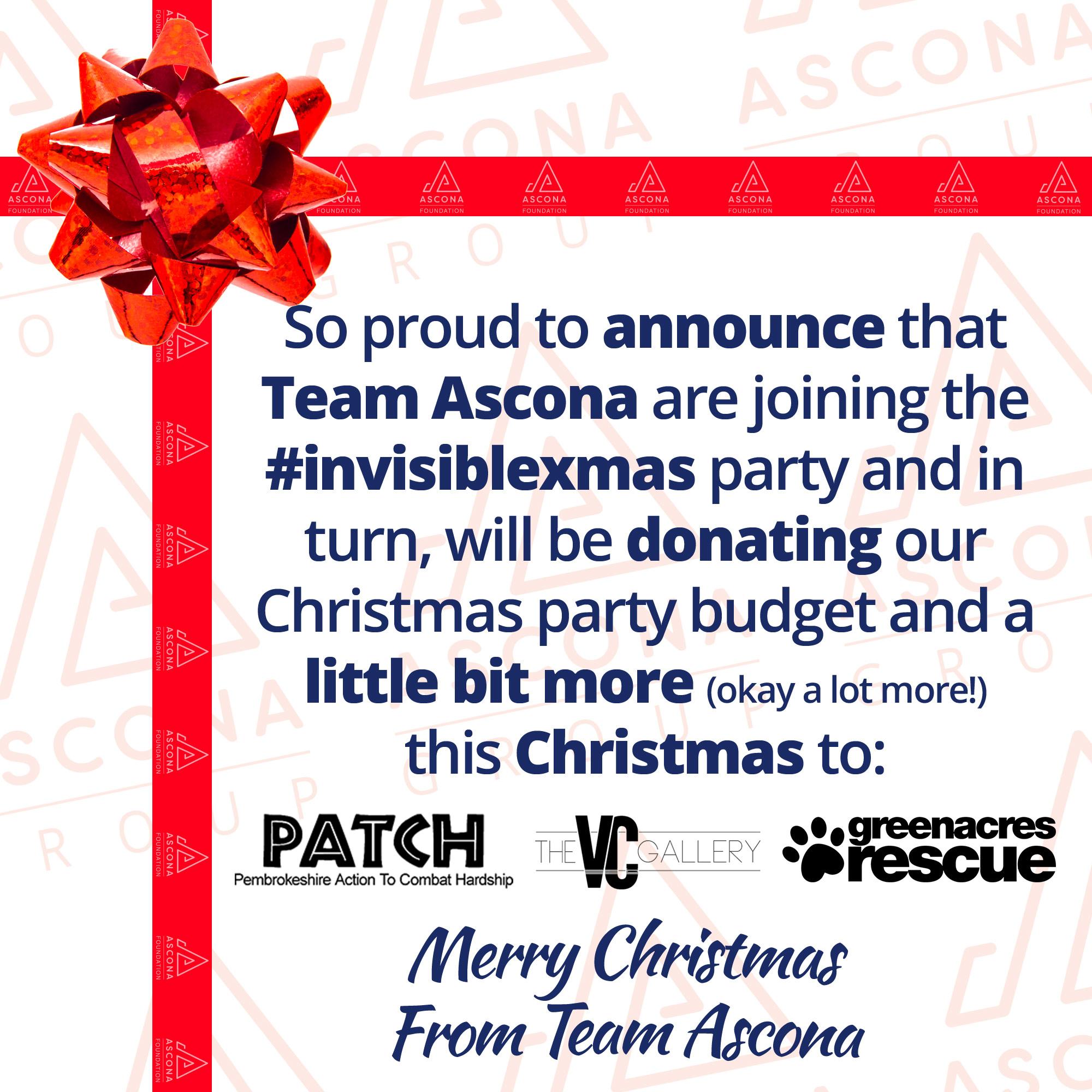 Christmas Donations 2020