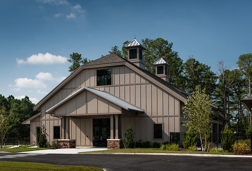 Bay Forest Clubhouse and Recreation Barn