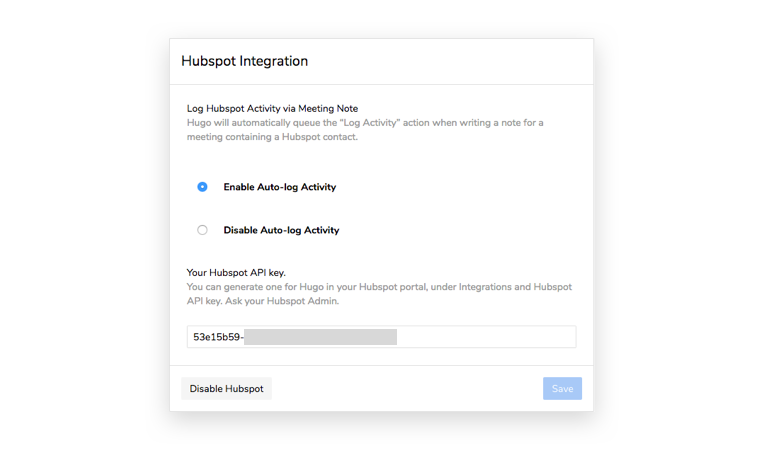 Automatic CRM Updates