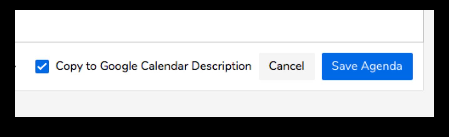 Copy to Google Calendar