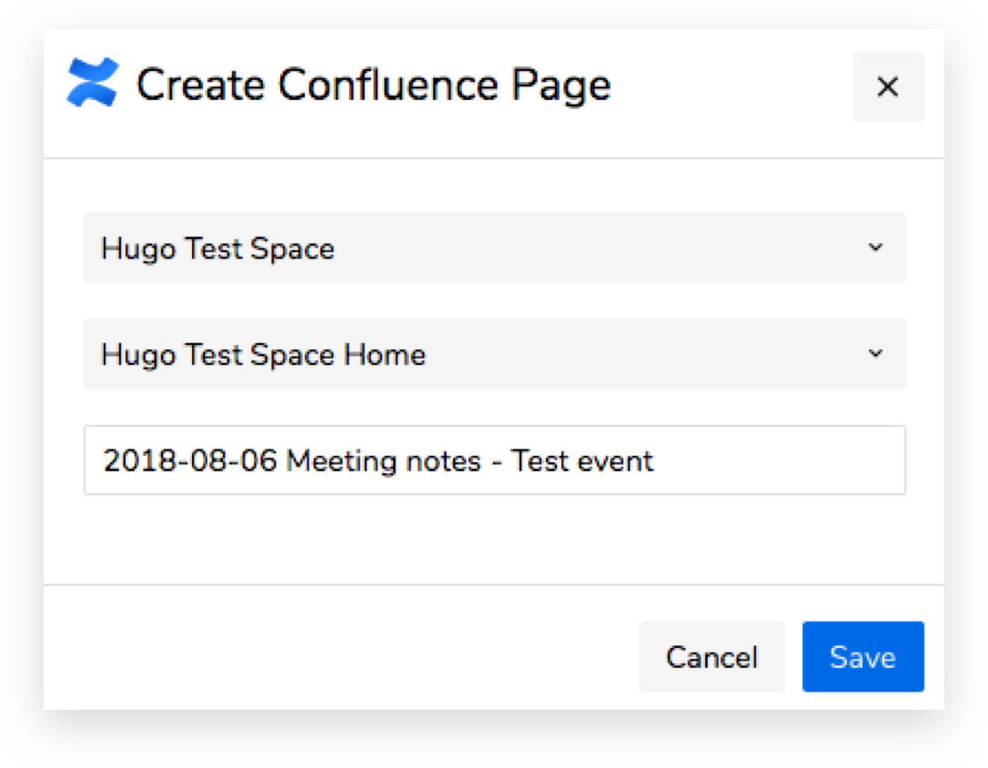 Improved Confluence Integration