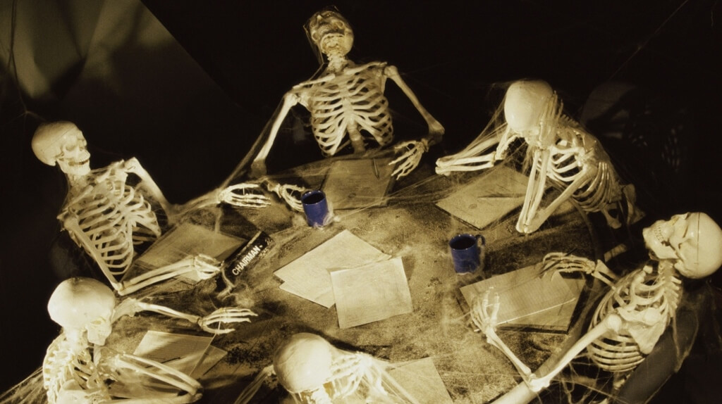 Skeletons in meetings