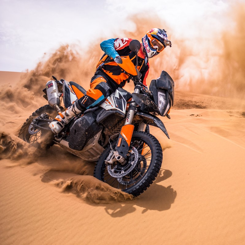 KTM 790 Adventure/ R im Test