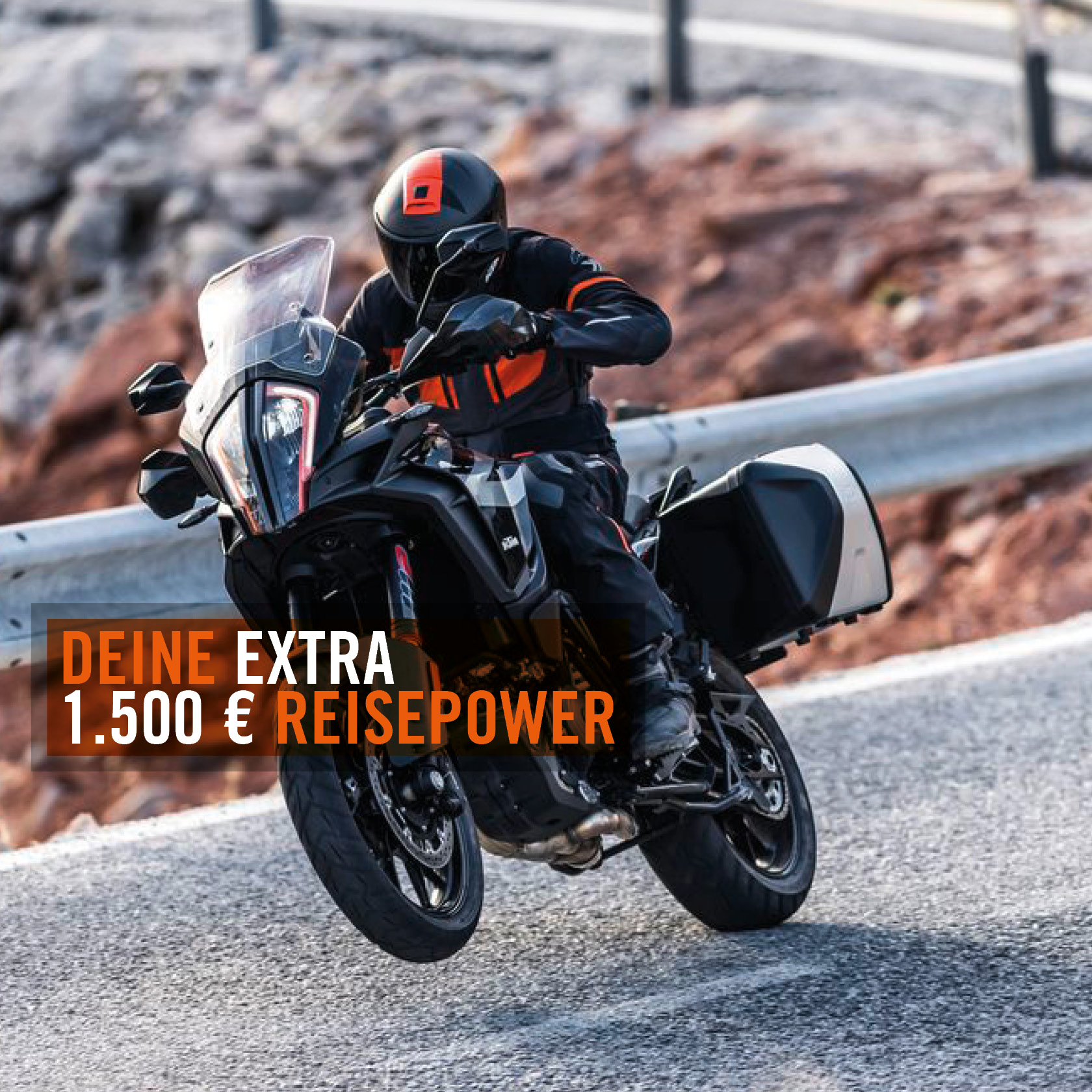 DEINE EXTRA REISEPOWER - KTM ADVENTURE SONDERAKTION!
