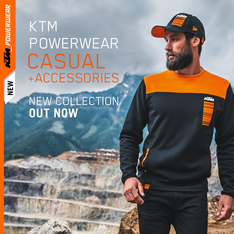 KTM POWERWEAR CASUAL & ACCESSORIES 2020: NEUE KOLLEKTION