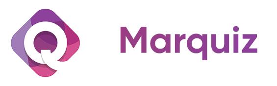 логотип марквиз на белом фоне