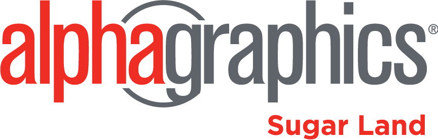 AlphaGraphics Sugar Land Logo