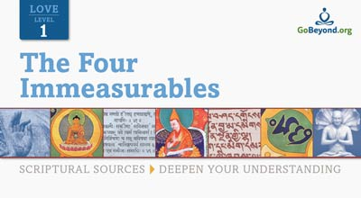 Four Immeasurables scriptural sources cover