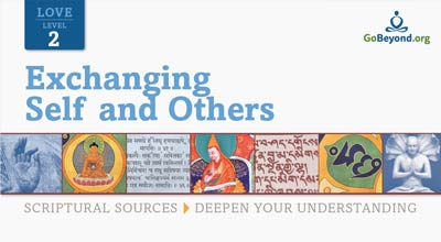 Exchanging self and others scriptural sources cover