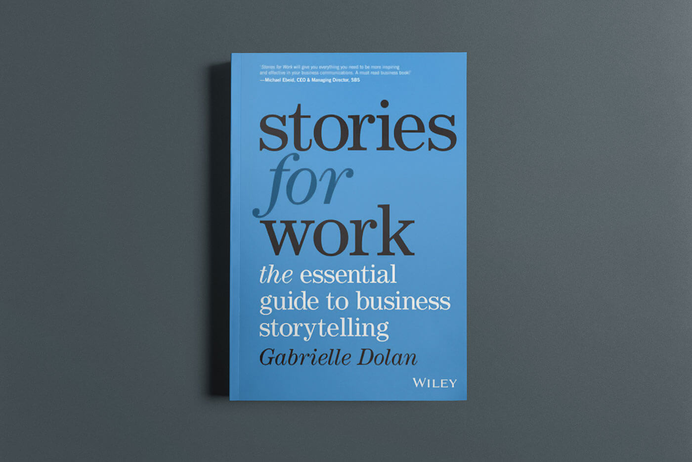 """Book cover of """"Stories for Work"""" by Gabrielle Dolan"""