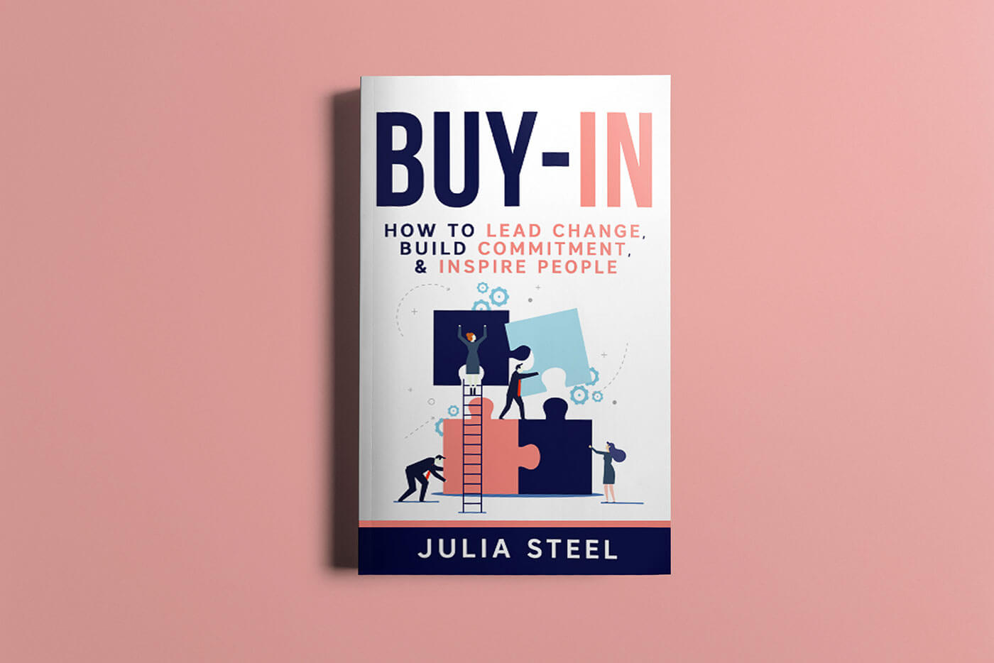 "Book cover of ""Buy-In"" by Julia Steel"