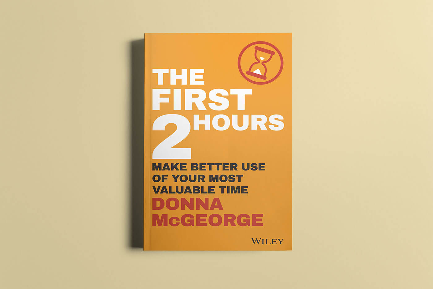 """Book cover of """"The First 2 Hours"""" by Donna McGeorge"""