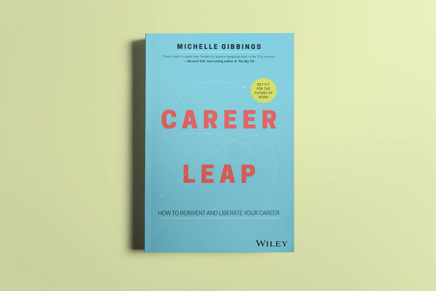 """Book cover of """"Career Leap"""" by Michelle Gibbings"""