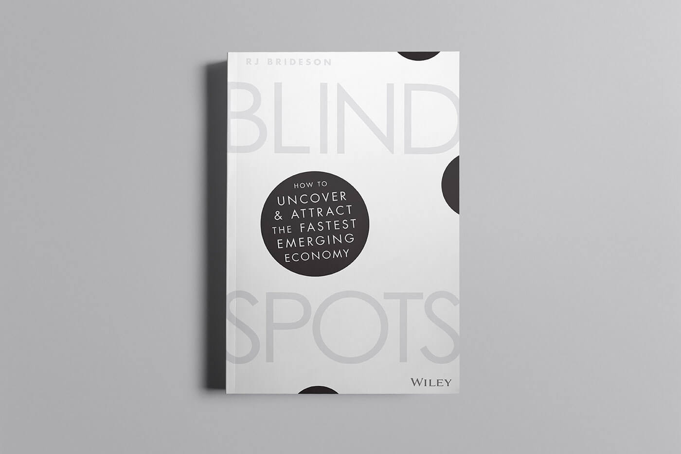 """Book cover of """"Blind Spots"""" by Bec Brideson"""