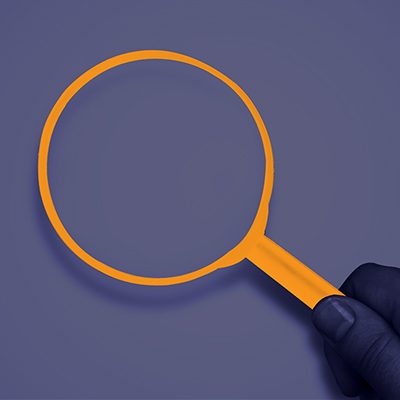 Magnifying glass - Book Coach Kelly Irving Website Element