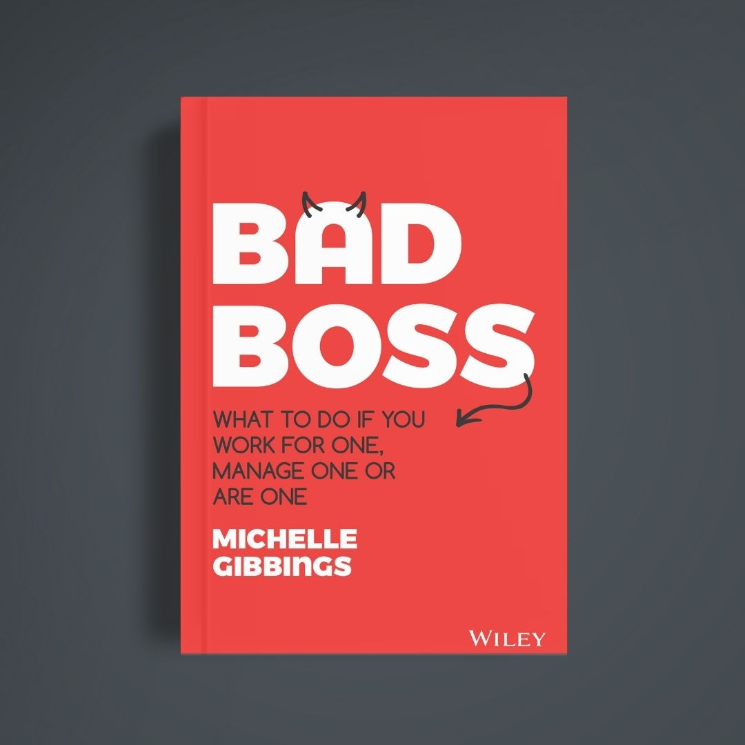 """Book cover of """"Bad Boss"""" by Michelle Gibbings"""
