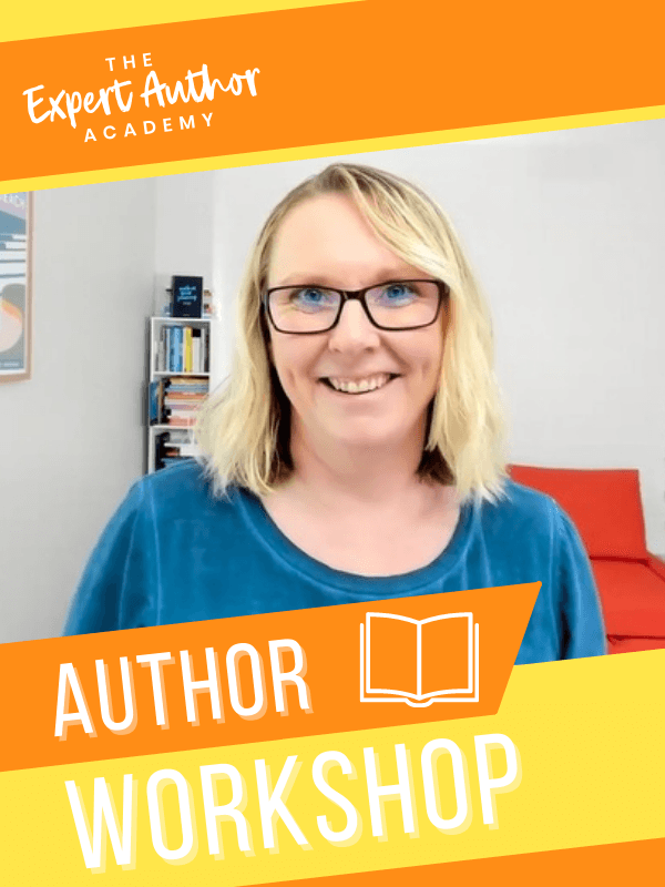 Author Writing Workshop with Book Coach Kelly Irving