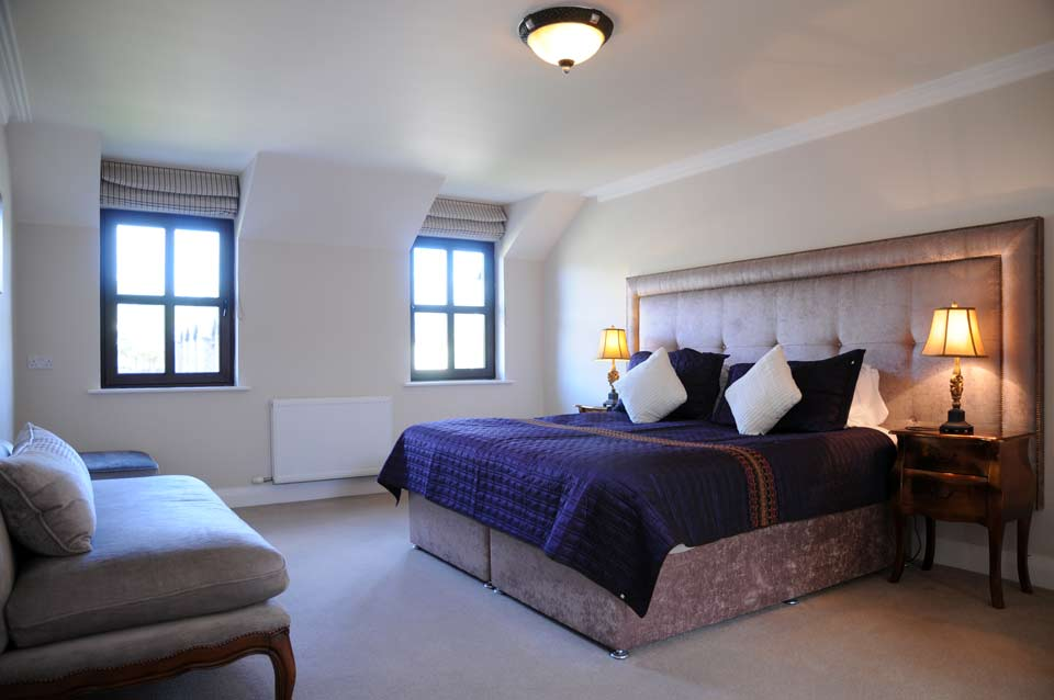 Bedroom of the best self catering luxury accommodation rentals in Dingle Ireland
