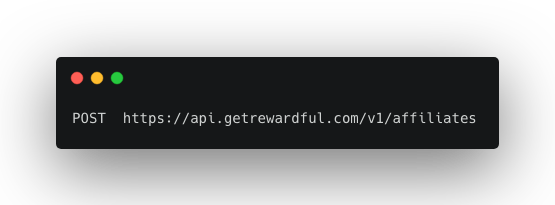 create referrer API endpoint
