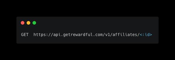 show referrer API endpoint