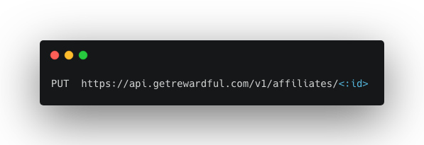 update referrer API endpoint