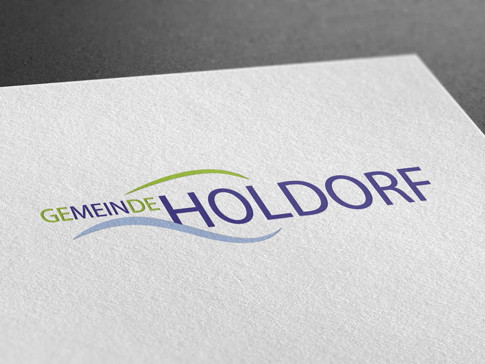 Logo der Gemeinde Holdorf.