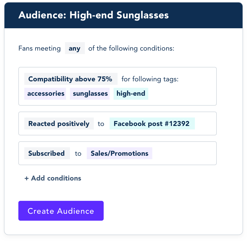 Example of a Universal Fan Profile