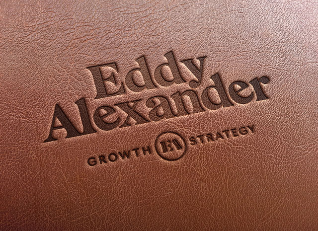 Eddy Alexander Leather Book Cover