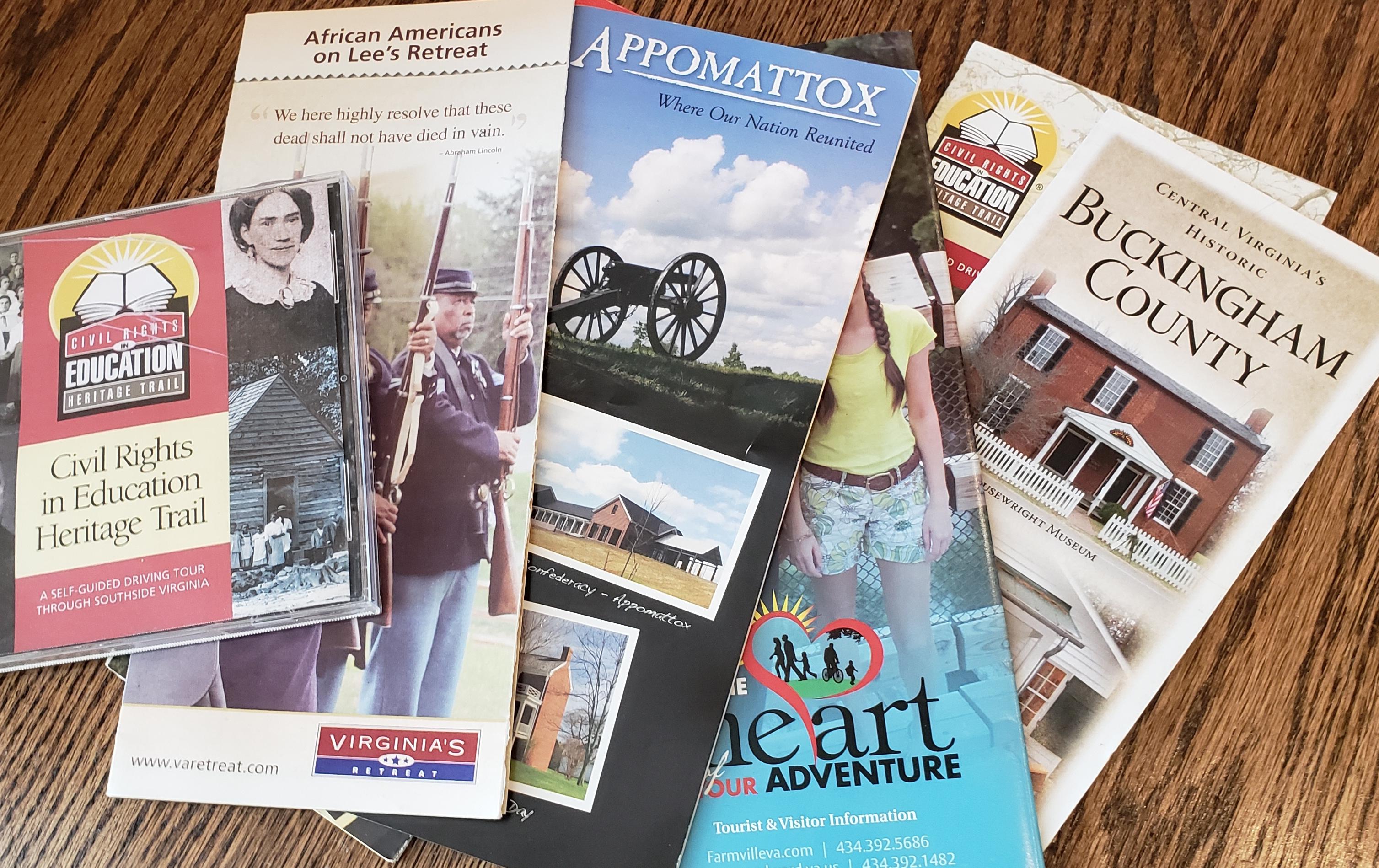 Brochures from Virginia's Retreat