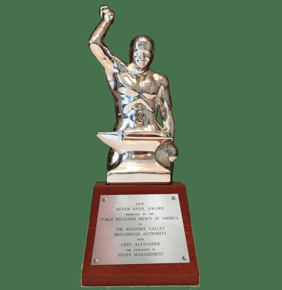 Eddy Alexander Silver Anvil Award