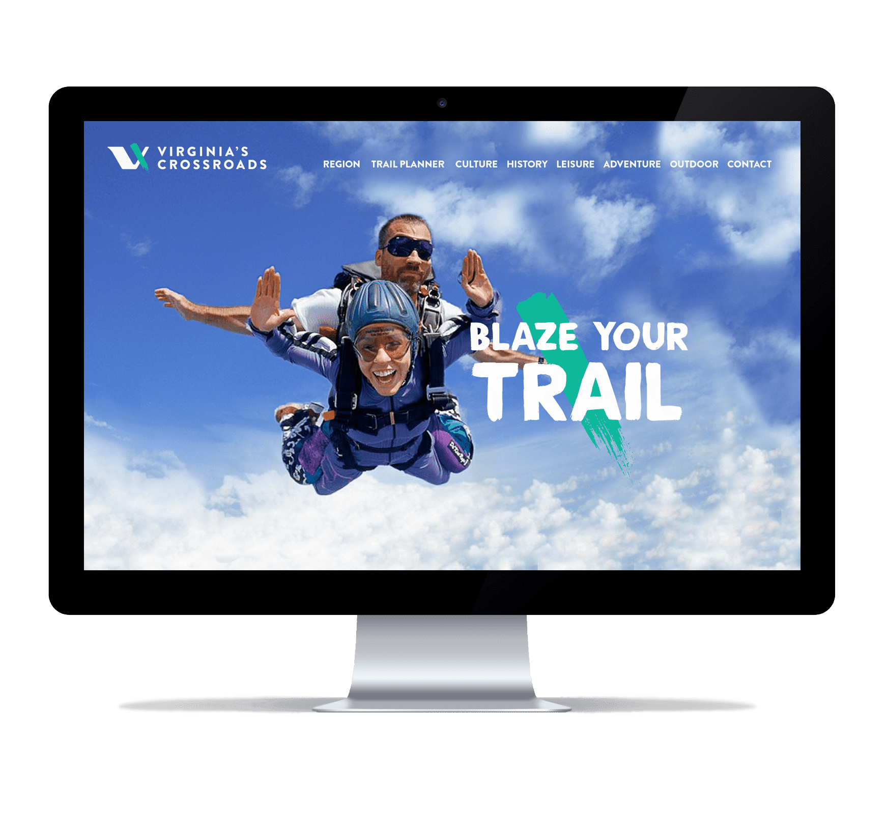 Virginia's Crossroads Website Screenshot