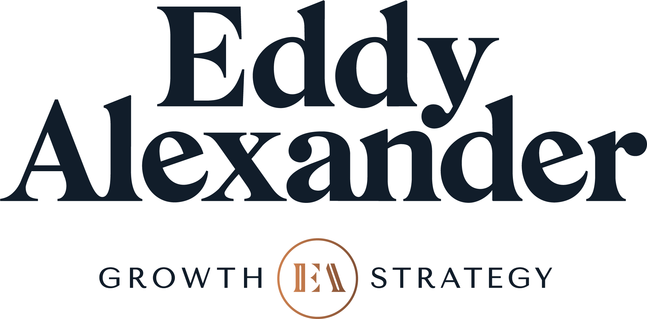 Eddy Alexander Stacked Logo hidden
