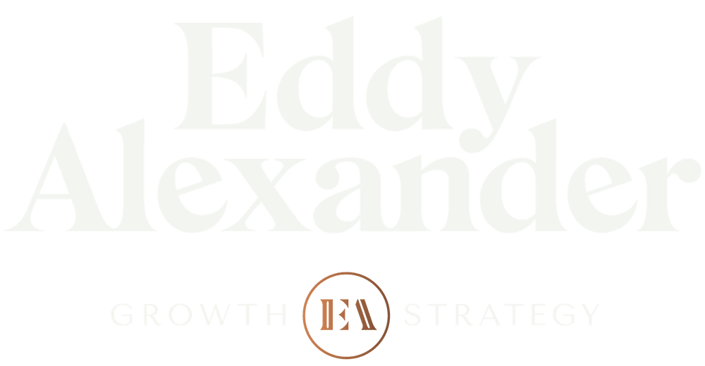 Eddy Alexander Agency Stacked Logo- transparent background