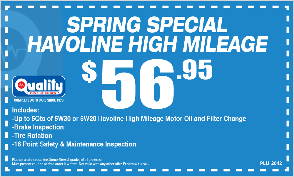 Spring Special Havoline High Mileage
