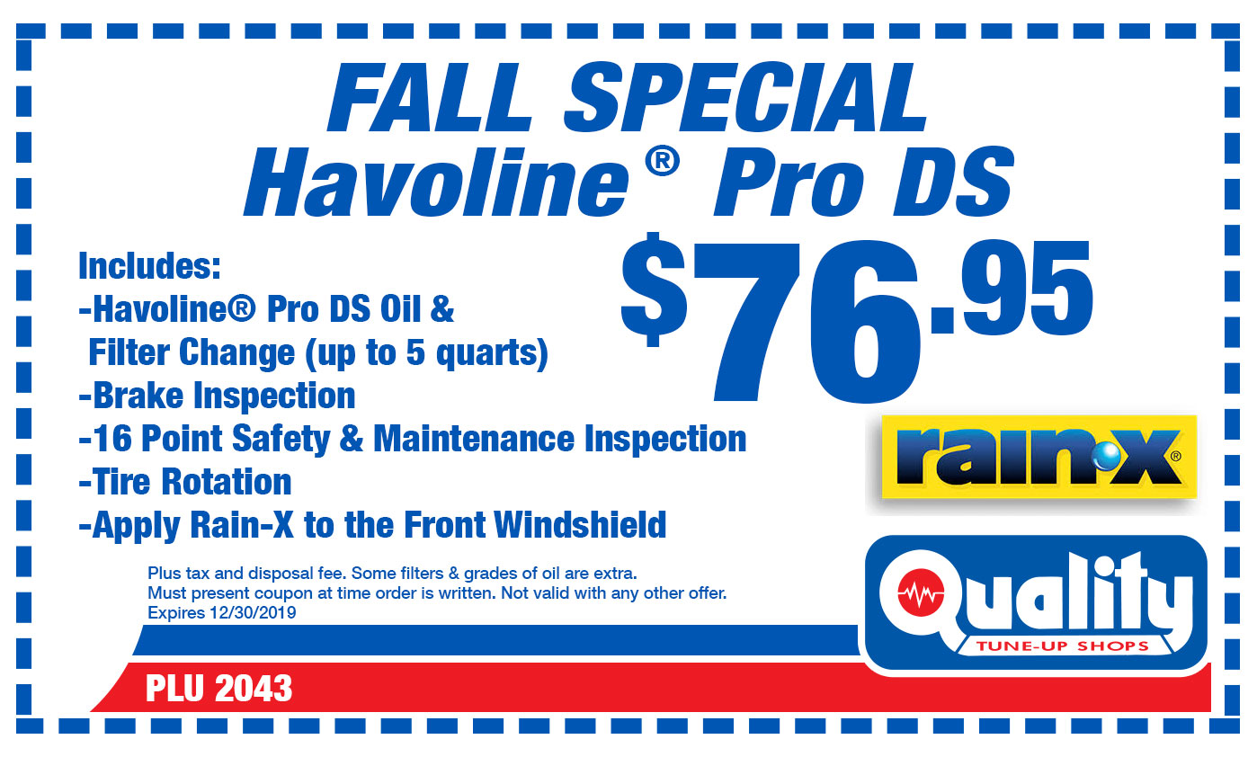 Fall Special Havoline Pro DS